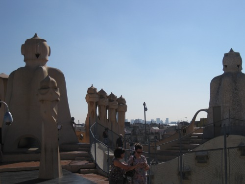Rooftop of La Pedrera (Casa Mila)