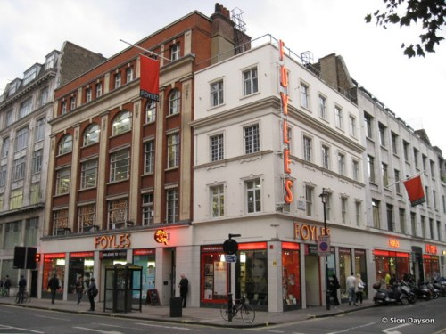 Foyle's Bookshop in London