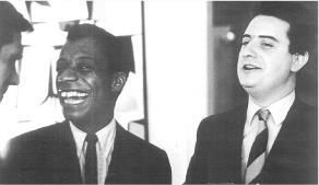 James Baldwin and Robert Cordier