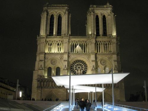 New Notre Dame Walkway